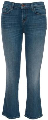 J Brand Selena Mid Crop Bootcut $238 thestylecure.com