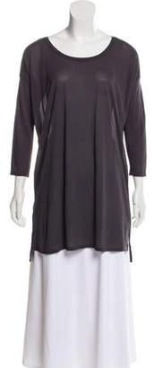 Calypso Sheer Long-Sleve Tunic