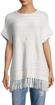 Velvet by Graham & Spencer Women's Fringe Tunic