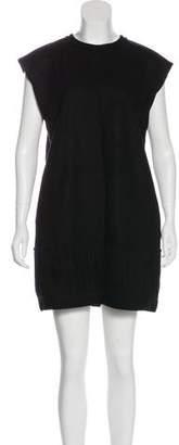 Saint Laurent Wool Mini Dress