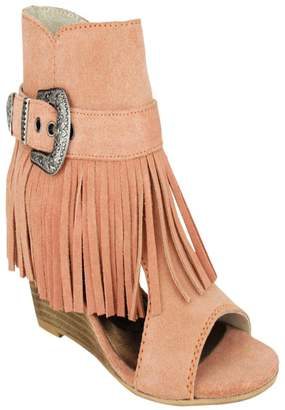 Naughty Monkey L'Roy Fringe Wedge