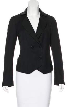Alexandre Herchcovitch Wool Notch-Lapel Blazer