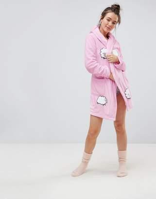 Asos Supersoft Sheep Applique Robe