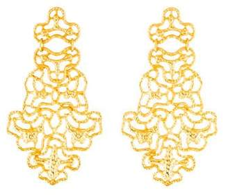 Ben-Amun Ben Amun Open Work Chandelier Earrings