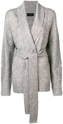 RtA belted cardigan