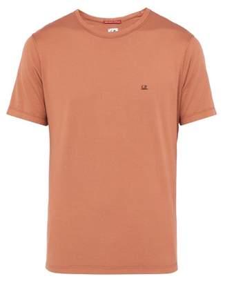 C.P. Company Crew Neck Mako Cotton T Shirt - Mens - Brown