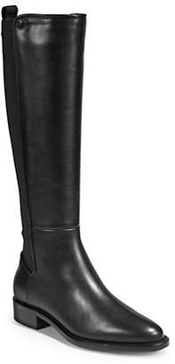 Aquatalia Nastia Leather Tall Boots