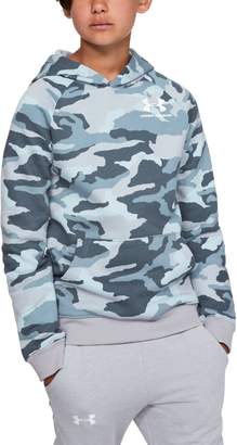 Under Armour Boys 8-20 Rival Camo Pull-Over Hoodie