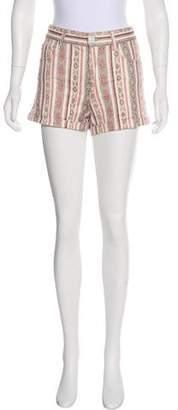 Etoile Isabel Marant Printed Mid-Rise Shorts