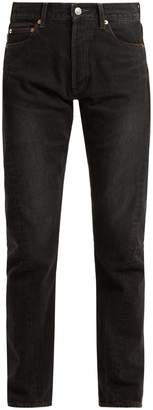Balenciaga Twisted-seam straight-leg jeans