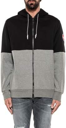Colmar Black/gray Interactive Hooded Sweatshirt