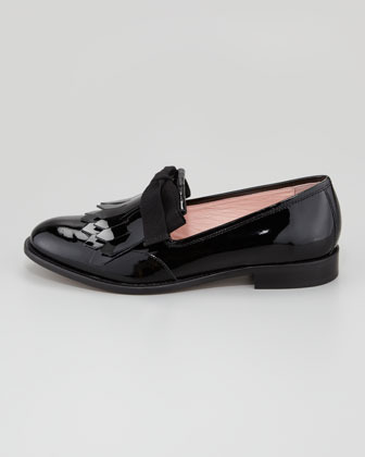 RED Valentino Patent Leather Oxford with Tassel