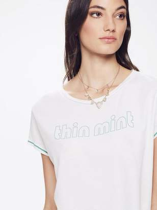 Mother Crop Goodie Goodie Thin Mint - Dirty White