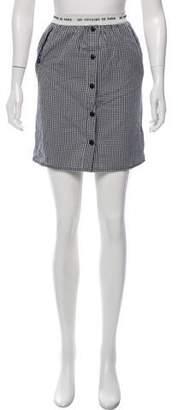 LES COYOTES DE PARIS Patterned Mini Skirt