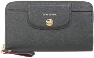 Longchamp Pliage Cuir Zip Around Wallet