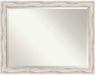 Amanti Art Alexandria 45x35 Bathroom Mirror