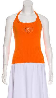 Milly Sleeveless Knit Halter