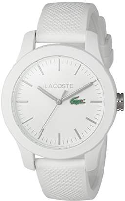 Lacoste Women's 'Ladies 12.12' Quartz Resin and Silicone Watch