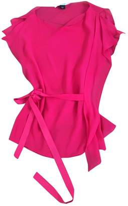 Martine Sitbon Pink Silk Top for Women