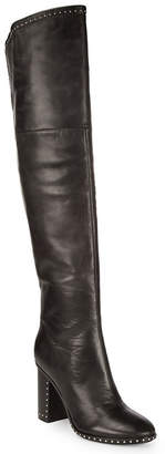 Sigerson Morrison Studded Over-The-Knee Boot