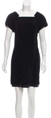Rag & Bone Leather-Accented Cutout Dress w/ Tags