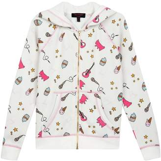 Juicy Couture Cozy Fleece Juicy Doodles Jacket for Girls