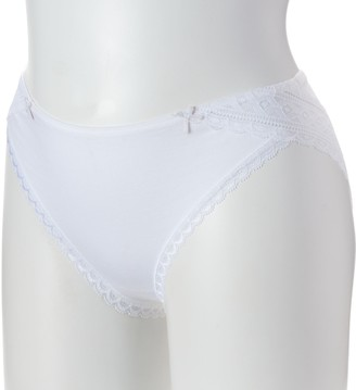 Maidenform Lace Trim Cheeky Tanga Panty DMCS59