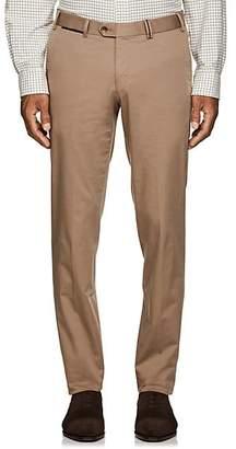 Hiltl Men's Cotton Slim Trousers - Beige/Tan Size 42