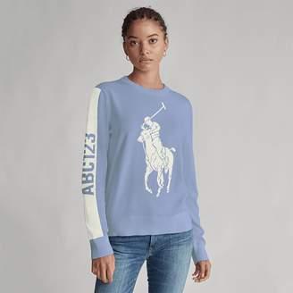 Ralph Lauren Custom Cotton Crewneck Sweater