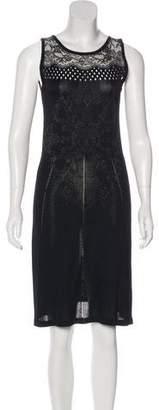 Christian Lacroix Knit Knee Length Dress