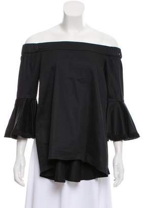 N. Nicholas Off-The-Shoulder Layered Top