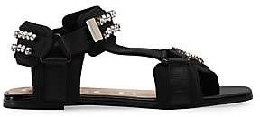 30985fcc10d Gucci Women s Shea Bejeweled Gladiator Sandals