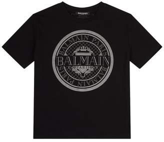 Balmain Regal Logo T-Shirt
