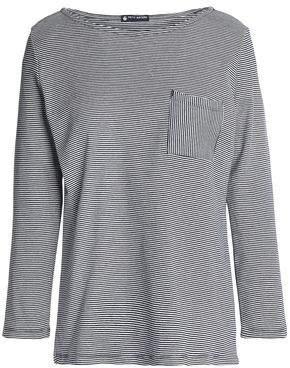 Petit Bateau (プチ バトー) - Petit Bateau Striped Cotton-Jersey Top