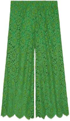 Gucci Flower lace ankle pant