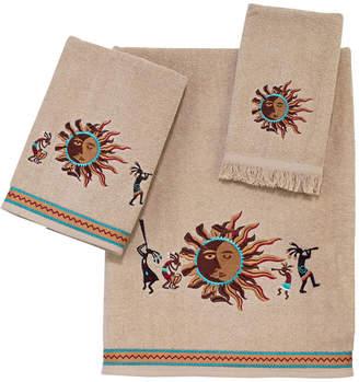 Avanti Southwest Sun Embroidered Bath Towel Bedding
