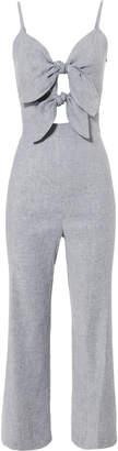 Intermix Jenny Double Tie Front Jumpsuit
