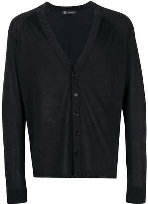 Versace V-neck cardigan