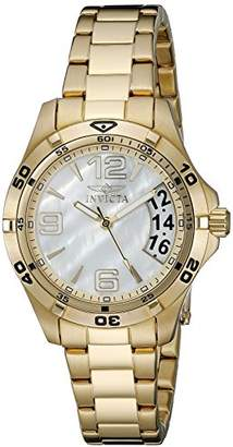 Invicta Women's 21372 Specialty Analog Display Swiss Quartz Gold Watch