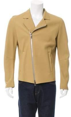 Jeffery Rudes Leather Biker Jacket w/ Tags