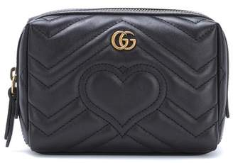 Gucci GG Marmont matelassé leather pouch