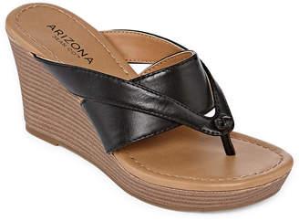 Arizona Carmen Womens Wedge Sandals