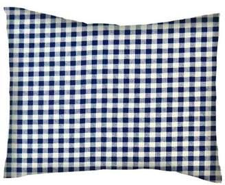 Viv + Rae Darian Gingham Check Cotton Percale Pillowcase