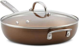 """Ayesha Curry Home Collection 12"""" Covered Deep Skillet"""
