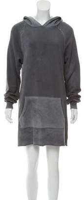 Cotton Citizen Hooded Sweatshirt Dress