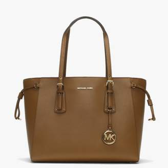 Michael Kors Voyager Acorn Saffiano Leather Tote Bag