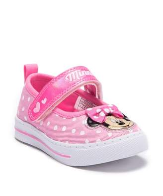 Josmo Minnie Mouse Canvas Mary Jane Sneaker (Toddler & Little Kid)