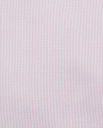 Neiman Marcus Classic-Fit Regular-Finish Twill Textured Solid Dress Shirt