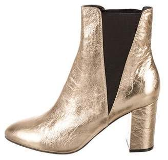 Rebecca Minkoff Metallic Ankle Boots