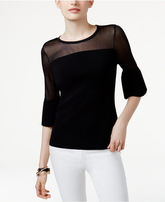 INC International Concepts Illusion Sweater, Only at Macy's $69.50 thestylecure.com